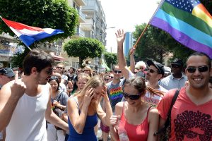 Tel Aviv Gay Parade celebration
