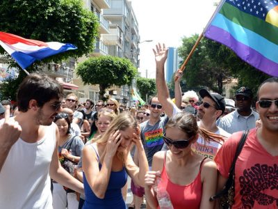 Tel Aviv Gay Parade celebration
